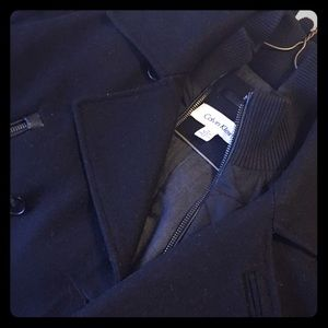Other - Calvin Klein Heavy Trench Coat